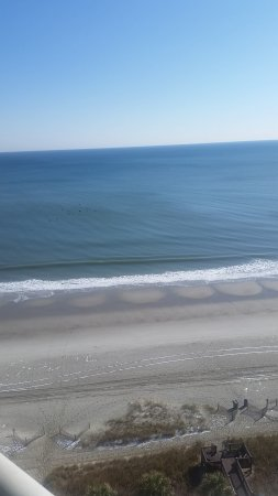 The Strand a Boutique Resort: View from room balcony