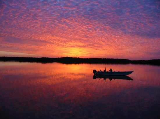 Everglades Boat Tours: Sunset over Chokoloskee Bay - Everglades National Park Expedition
