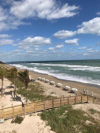 Jensen Beach, FL: View from balcony