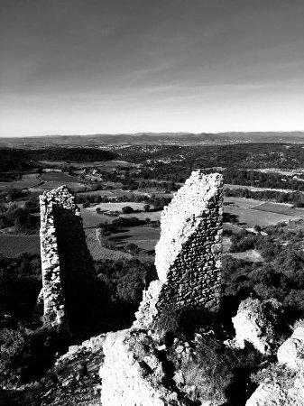Herault, Francia: Ruines du château d'Aumelas