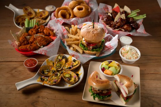 Macado's : An overstuffed menu with something for everyone.  See you at the DO's!