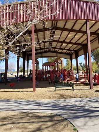 Tumbleweed Park: Large pavilion play area