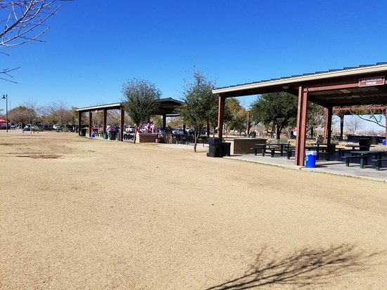 Tumbleweed Park: smaller pavilions for birthday parties