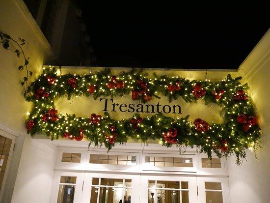 Hotel Tresanton: Restaurant Entrance