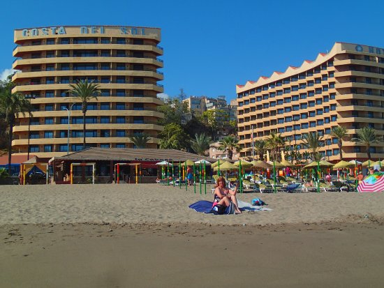 Melia Costa del Sol: Our hotel just across the street.