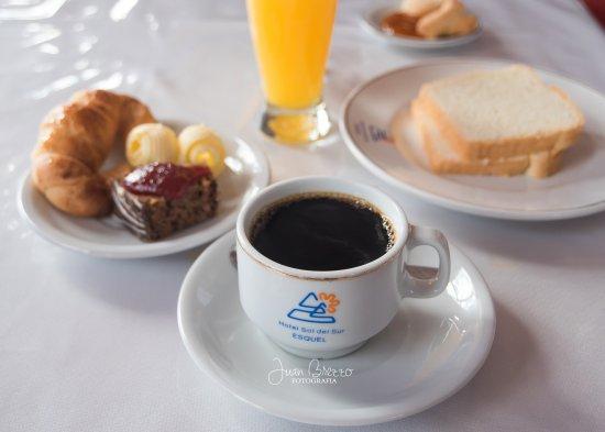 Hotel Sol Del Sur: Desayuno
