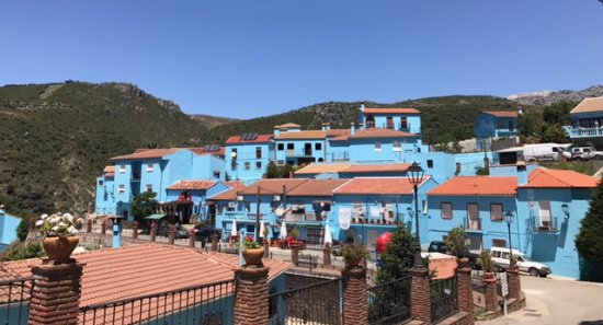 Juzcar, Spain: Vue du village