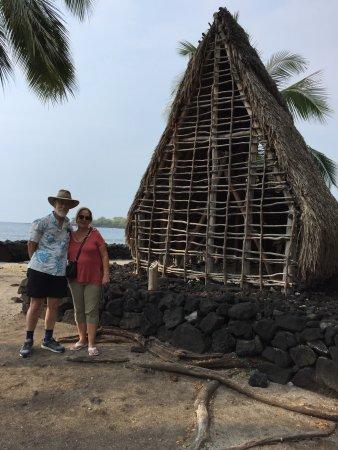 Honaunau, Hawái: One of the exibits