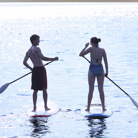 Vergennes, VT: Paddleboarding.