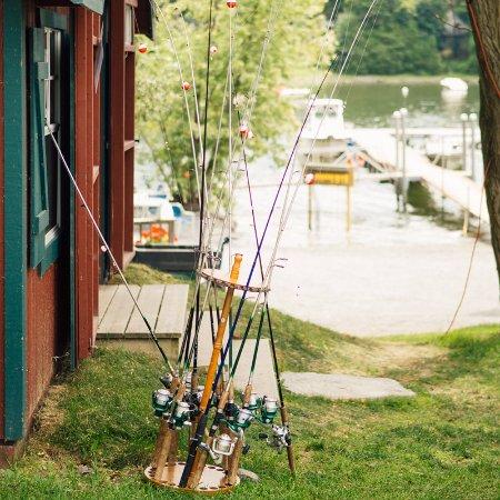 Vergennes, VT: Fishing on Lake Champlain.