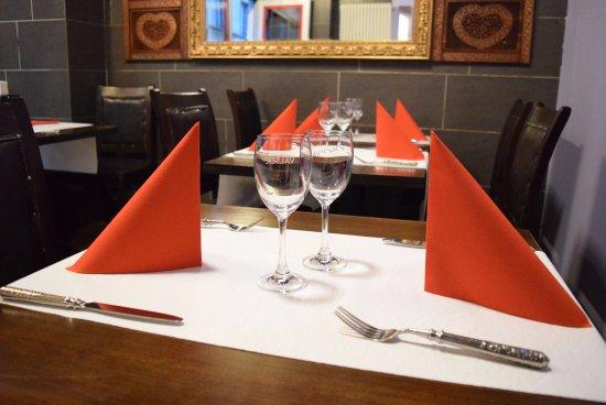 ShriGanesh Restaurant: Beautiful cutlery