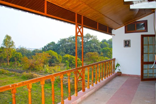 Balcony - Picture of The Ranger's Lodge, Imran's Jungle Home in Corbett, Ramnagar - Tripadvisor