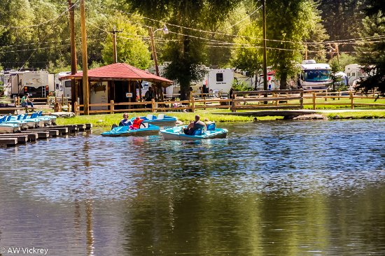 South Fork, CO: Paddle Boating at is finest.