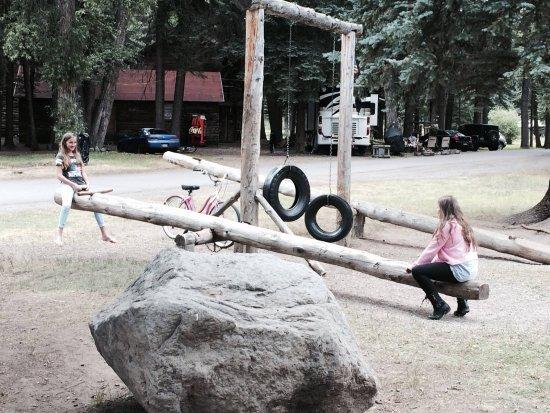 Σάουθ Φορκ, Κολοράντο: Kiddos having FUN the old fashion way at Fun Valley Family Resort