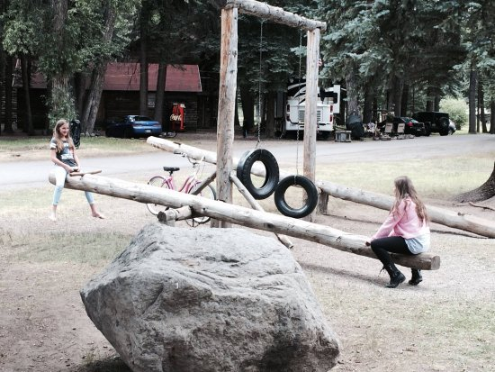 South Fork, CO: Kiddos having FUN the old fashion way at Fun Valley Family Resort