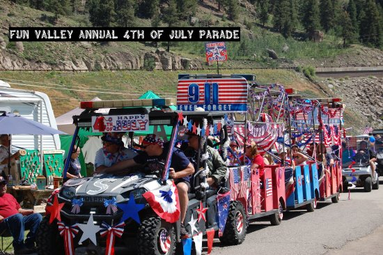 South Fork, CO: Fun Valley annual 4th of July Parade