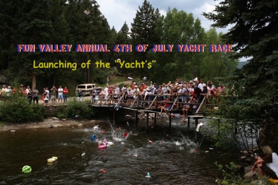 South Fork, CO: Fun Valley annual 4th of July Yacht Race