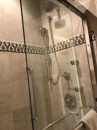 Multiple Shower Heads In Picture Of The Roosevelt