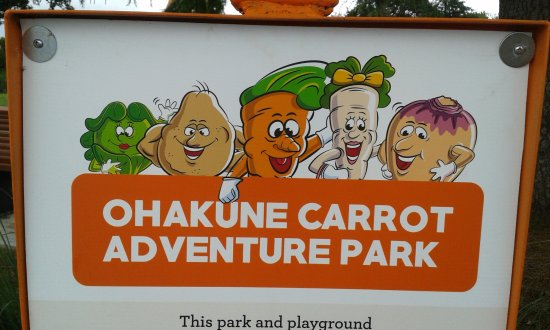 Ohakune, New Zealand: the entrance