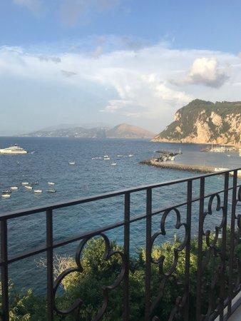 Capri Inn : View from our balcony