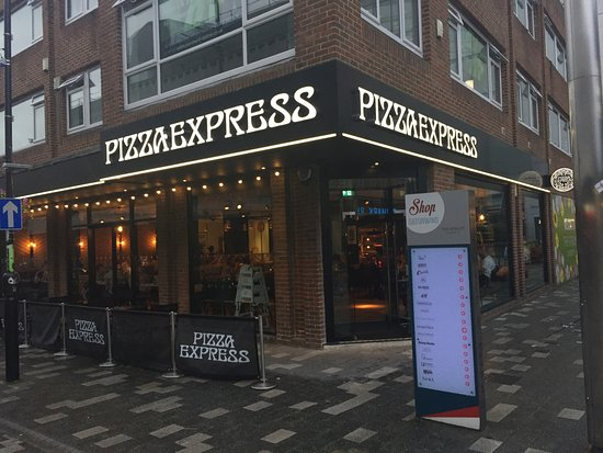 Evening Out Picture Of Pizza Express Camberley Tripadvisor