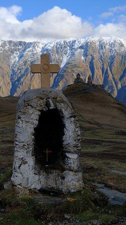 Mount Kazbek: Гергети