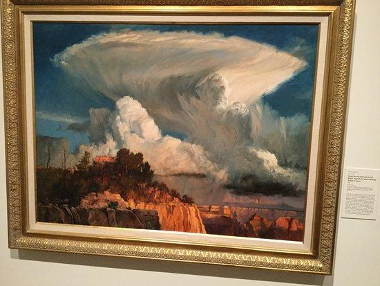 Fred Jones Jr. Museum of Art: Eye catching