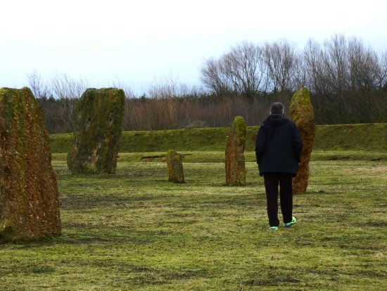 Stanton Harcourt, UK: Devil's Quoits Standing Stone Circle