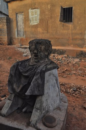 A voodoo god from the voodoo village of Togoville in Togo  - Picture