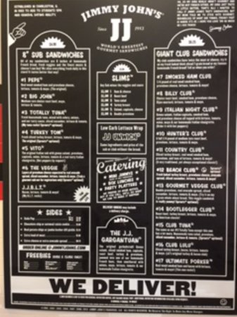 Jimmy John's Near Me - April 2019: Find Nearby Jimmy John ...
