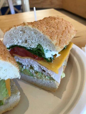 San Mateo, Kaliforniya: The Kingston sandwich