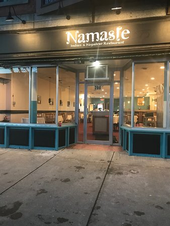 Greenfield, MA: Namaste is a warm and welcoming restaurant, we also specialize in Indian food, North Indian tand