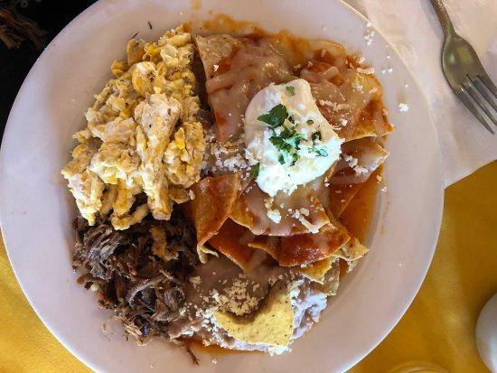 Hotel El Cortez: breakfast was tasty, thank goodness