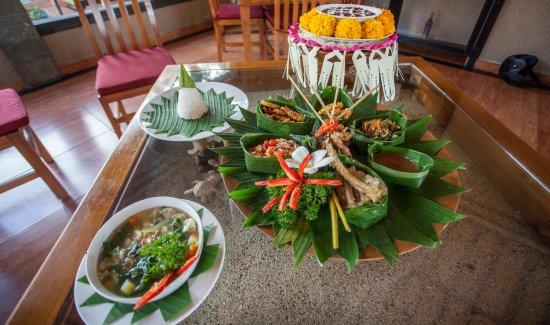 Taruna Homestay: Balinese food