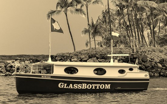 Kailua Bay Charters - Glassbottom Boat Cruise