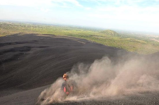 Cerro Negro Hiking and Sand Boarding
