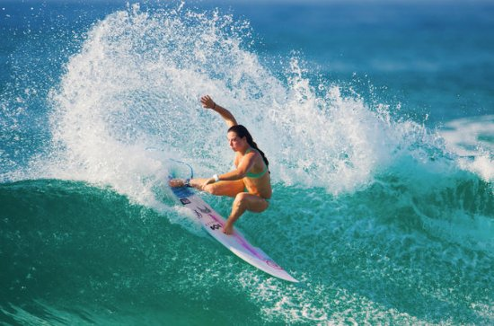 5-Day Power Surfing Level 3 Surf Course in Bali