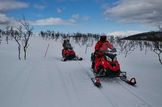 Arctic Sea and Lyngen Alps Snowmobile...