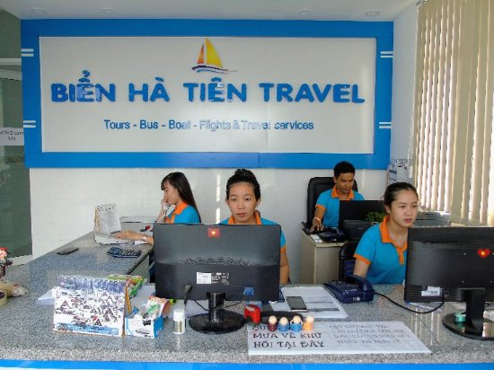 Ha Tien, เวียดนาม: Office. Book tickets online www.hatienphuquoc.com.vn or info@hatienpuquoc.net or phone +84165566