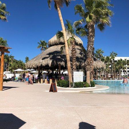 Beautiful views at the pool