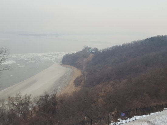 closest point of noko to seoul 坡州 odusan unification towerの