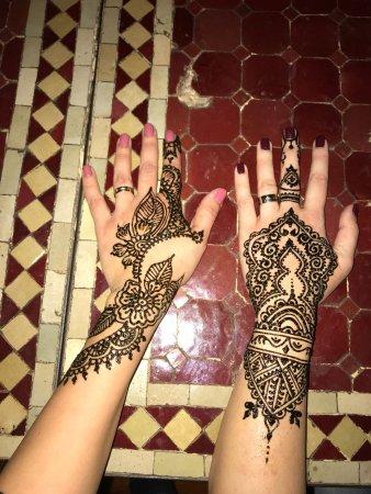 Henna Tattoo Picture Of Marrakech Henna Art Cafe Marrakech