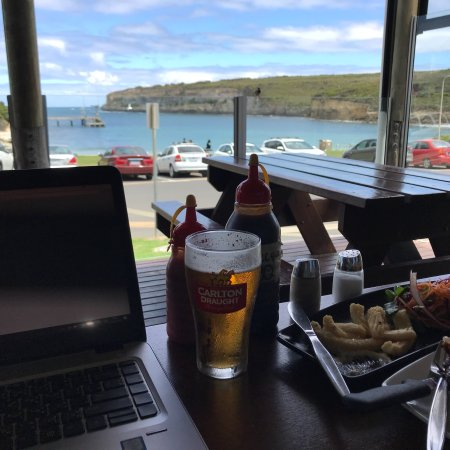 12 rocks cafe and beach bar port campbell restaurant for Porte 12 restaurant
