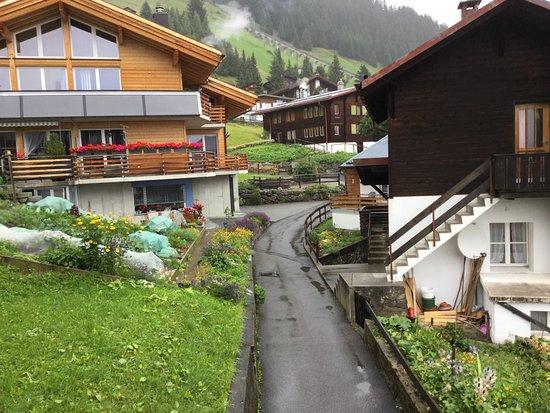 Around the village of Murren