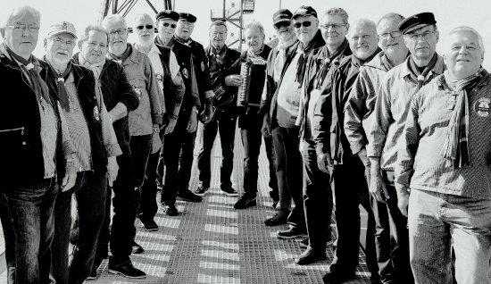 """""""Shantychor Dorum, die Jungs vom Nordseedeich von der Wurster Nordseeküste in Dorum Neufeld"""
