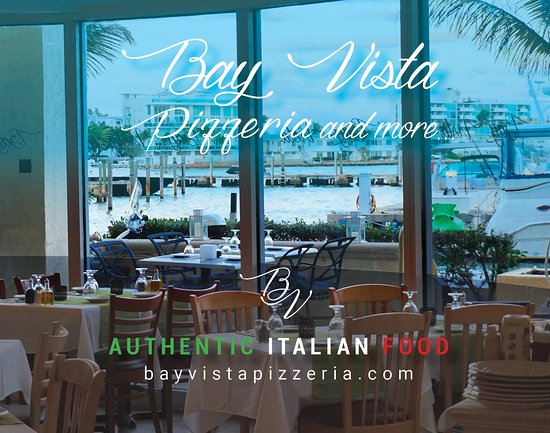 North Bay Village, FL: Bay Vista pizzeria _Authentic Italian Food
