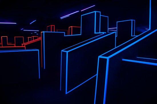 Gravity Laser Arena