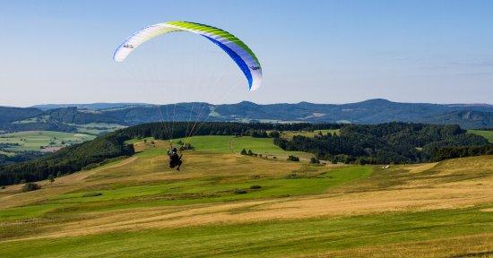 Gersfeld, Germania: Gleitschirmfliegen Wasserkuppe