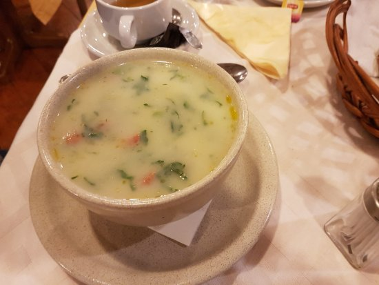 Camacha, Portugal: Vegetable soup.