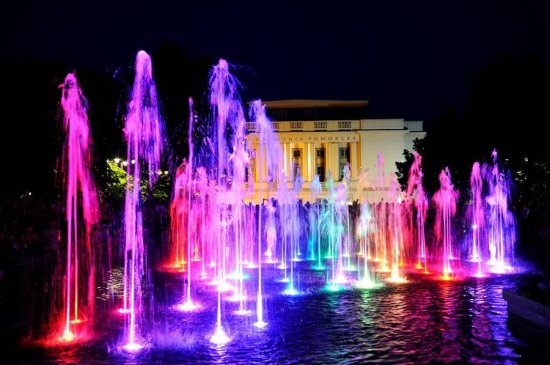 Dancing Fountain